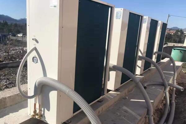 Install Folansi EVI split air to water heat pump chiller in Bosnia