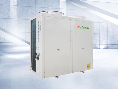 36kw Heating and cooling central air-conditioning air to water heat pump